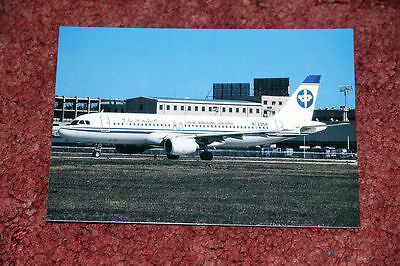China Zheijang Airlines Airbus A320 Airline Postcard