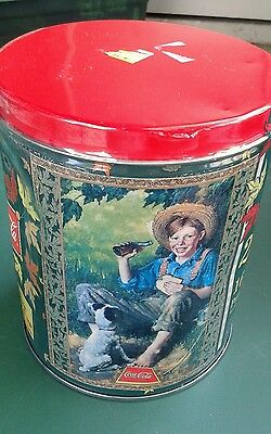 Coca Cola 1998 200 Piece Puzzle In Tin  Made in USA