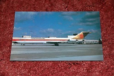 Continental Airlines Boeing 727-200 Airline Postcard