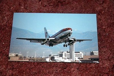 Continental Airlines Boeing 737-200 Airline Postcard