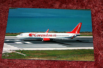 Corendon Dutch Airlines Boeing 737-800 Airline Postcard