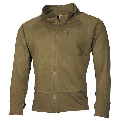 US Military Tactical Softshell Light Combat Jacket Fast Drying Base - Coyote Tan