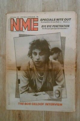 Nme New Musical Express 20Th October 1979.