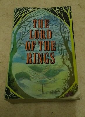 The Lord of the Rings, By J.R.R.Tolkien, 1969, paperback, 3 parts in one book