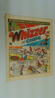 Whizzer And Chips Comic From 29-10 -1977.