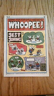 Whoopee Comic Issue No.4 From 1974.