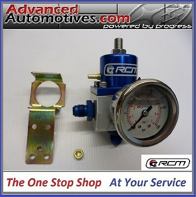 Subaru Fuel Pressure Regulator RCM SX Kit With -6 Fittings And Sytec Fuel Gauge
