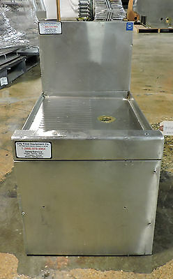 """Used Stainless Steel Bar Drainboard 12"""""""