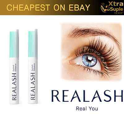 2x REALASH Eyelash Enhancer - Eyelash Conditioner 3ml