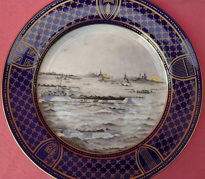 Spode Operation Overlord Plate Naval Assault Anniversary D-Day Landings Boxed