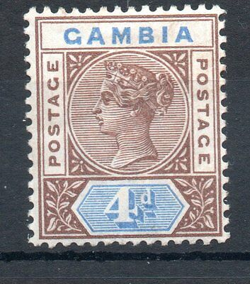 Gambia 1898 sg42 m/m