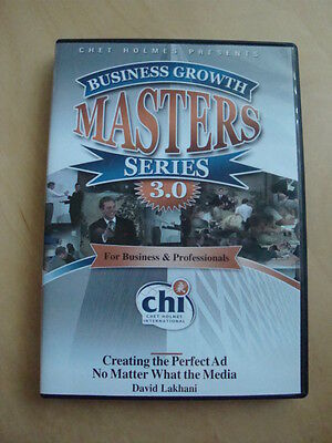 Chet Holmes Business Growth Masters Series 3.0 Creating the Perfect Ad DVD #10