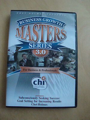 Chet Holmes Business Growth Masters Series 3.0 Goal Setting for Results DVD #20