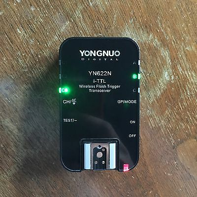 Yongnuo YN622N i-TTL Transceiver Wireless Flash Trigger for Nikon YN-622N YN622