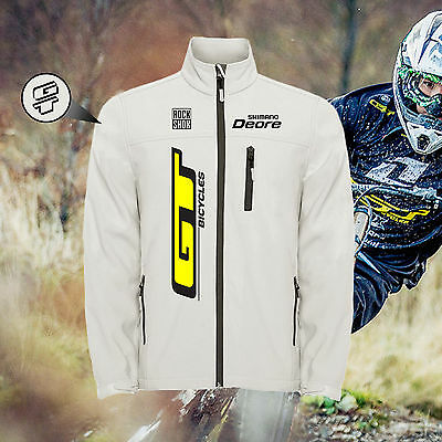 Chaqueta GT CYCLES BICYCLES WHITE Jacket Eclair Unterstand Veste Softshell