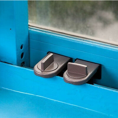 Doors Sliding Door Window Locks Safety Lock Stopper Windows Sash Restrictor
