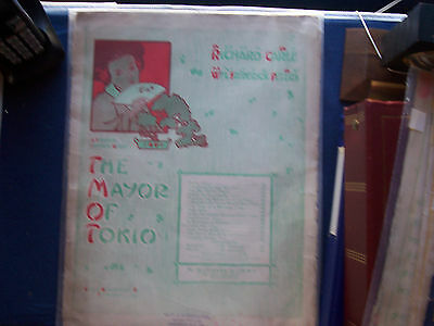 Four Rare Vintage Show Song Sheets