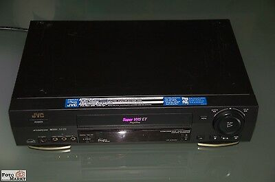 JVC Video Cassette Recorder S-VHS HR-S7800U (AC 120V 60Hz 20W)