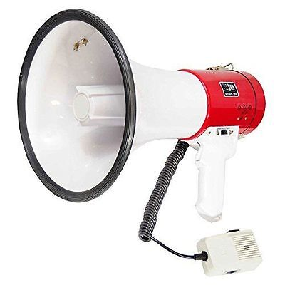 Pyle-pro Pmp58u Professional Piezo Dynamic 50 Watts Megaphone With Usb