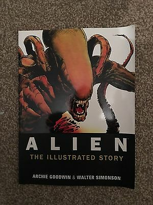 Alien - The Illustrated Story Graphic novel - Archie Goodwin & Walter Simonson