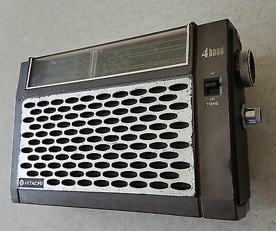 1970's Hitachi Portable Radio Model # KH-104OE