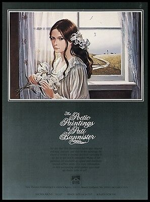1982 Pati Bannister Lilly Art Gulfport MS Publishers AD