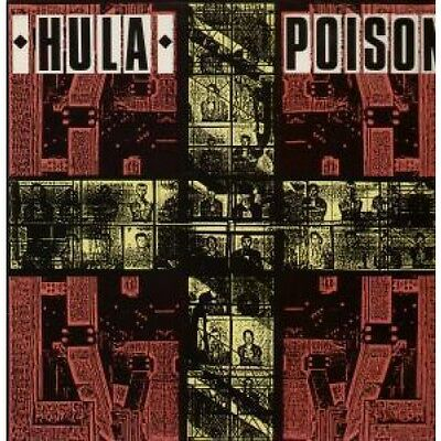 "HULA (UK GROUP) Poison 12"" VINYL UK Red Rhino 1986 2 Track B/W Club Mix"