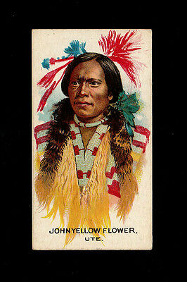 "B.a.t 1930 Scarce ( Wild West ) Card "" # 20 John Yellow Flower -- Indian Chiefs"