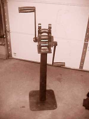 W.W. Oliver Double Gear Hand Rolling Mill