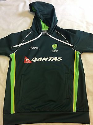 Australian cricket team match worn large player issue ashes hoody jacket