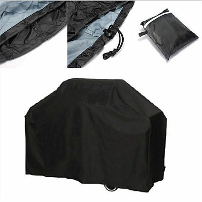 145CM  BBQ Cover Waterproof Garden Patio Gas Grill Rain Dust Barbecue Protection