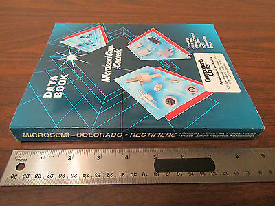 Microsemi Colorado Corp Data Book 1990s 300 pp