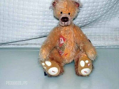 Ositos Baren Artist Bear Designed By Angela Schultz Collectible # 4/10
