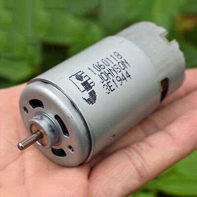 JOHNSON 1060118 RS-570 Electric Motor DC 12V-24V 20000RPM High Speed High Power