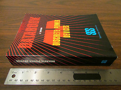SGS Discrete Power Devices Databook 6th Edition 1984 825 pages