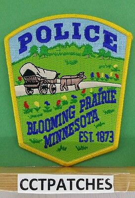 Blooming Prairie, Minnesota Police Shoulder Patch Mn 2