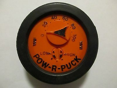 Rare Vintage Late 1960's POW-R-PUCK - Endorsed by Dave Keon and Tim Horton