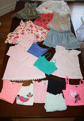 BULK Girls Summer - Size 8 - 10 - Country Road, Roxy, Cotton On + Denim Bag