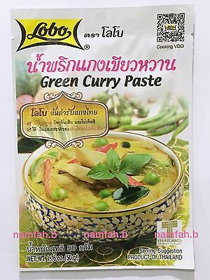 Lobo Green Curry Paste 50g