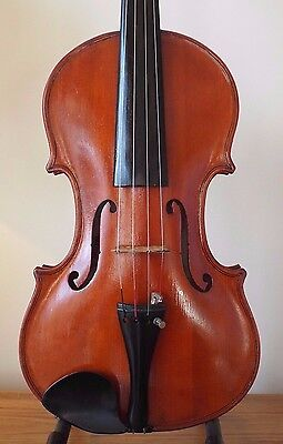 OFFER for  ENGLISH VINTAGE VIOLIN - JAMES WRIGLEY of PRESTON c1981  4/4 LOB 14 ""