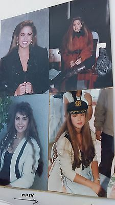 LUCERO candid photos, lot of four , nm
