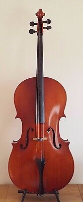 "Offer Invited -  Stanley Toulson Vintage Cello 4/4  Lob 30""  - Labelled + Cased"