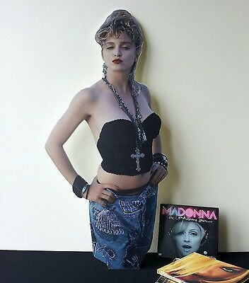 Madonna Display Stand Standee NEW MDNA Into the Groove Dress You Up Crazy for