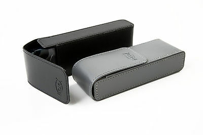Icase -  Designer Hard Leather Reading Glasses Case With Magnetic Closer