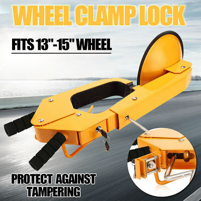 Wheel Clamp Disc Lock Anti-Theft Security Safety Car Vehicle Heavy Duty Security