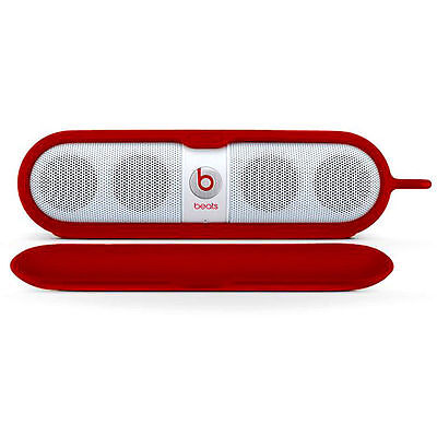 Beats Pill Sleeve by Dr. Dre for Pill Series Speakers Red