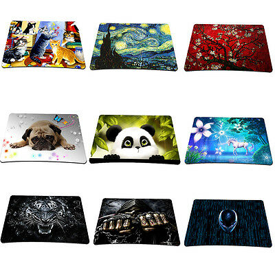 22x18CM Office Anti-Slip Mouse Pad Mice Mat Mousepad For Optical Laser Mouse