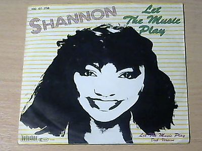 """7"""" SHANNON * Let The Music Play (MINT-) ELECTRO DISCO BREAKDANCE"""
