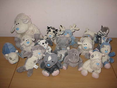 Me To You Blue Nose Friends Large Collection X 16 Bears Some Tagged