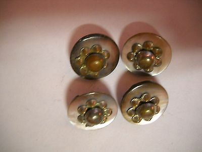 Beautiful Lot of Vintage Buttons Shell and Cut Steel (RARE)